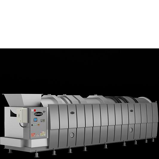 Máy giặt công nghiệp đường hầm Braun